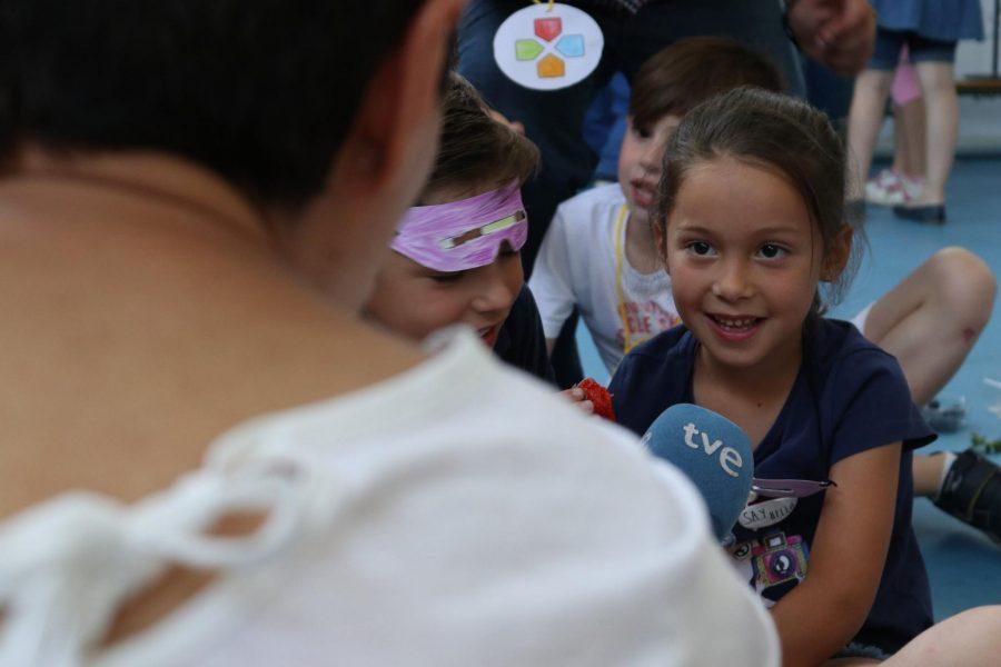 Las Súper Berries ha recibido la visita de La1 de TVE