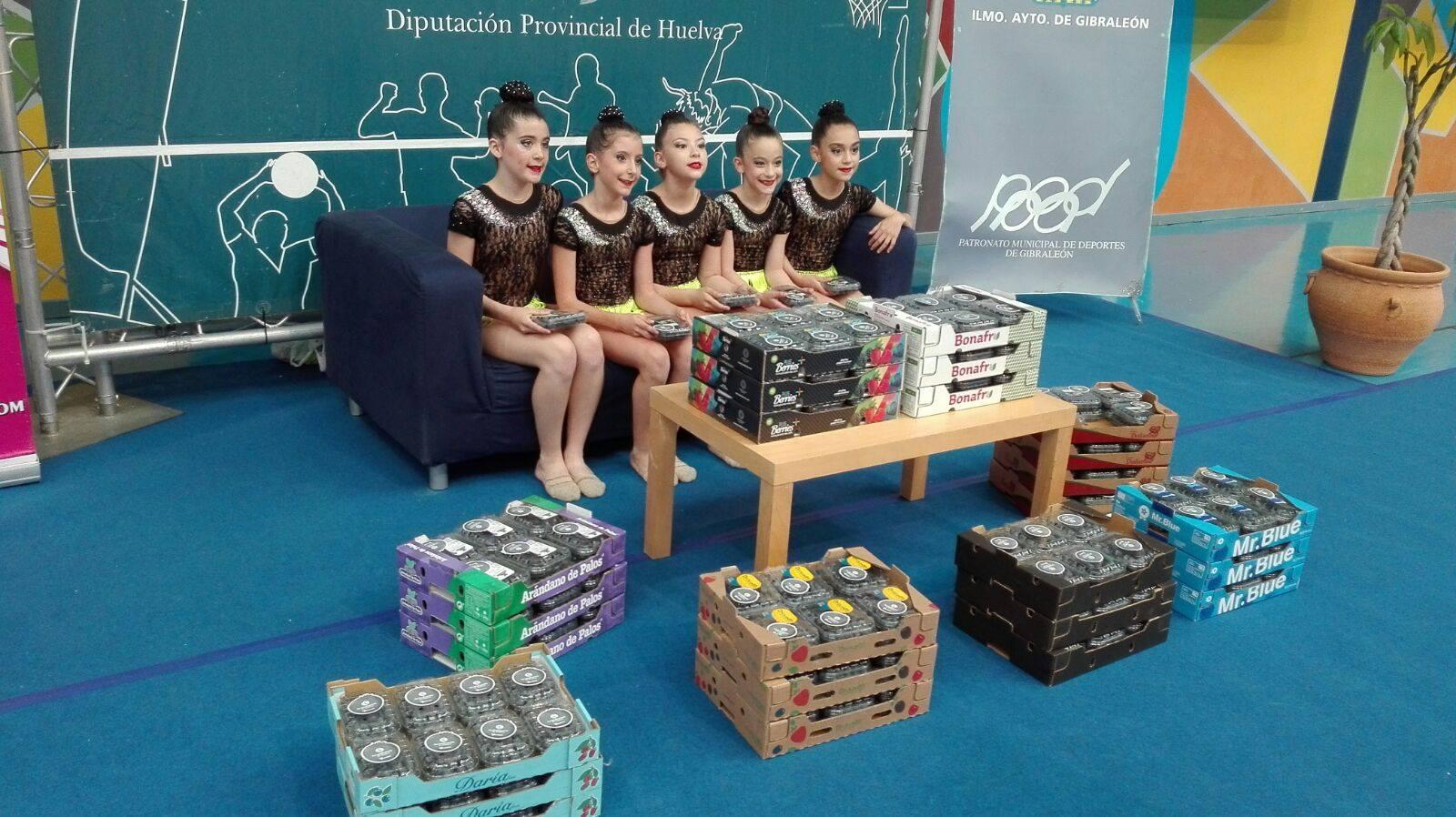 Apoyamos la Gimnasia Rítmica en Huelva