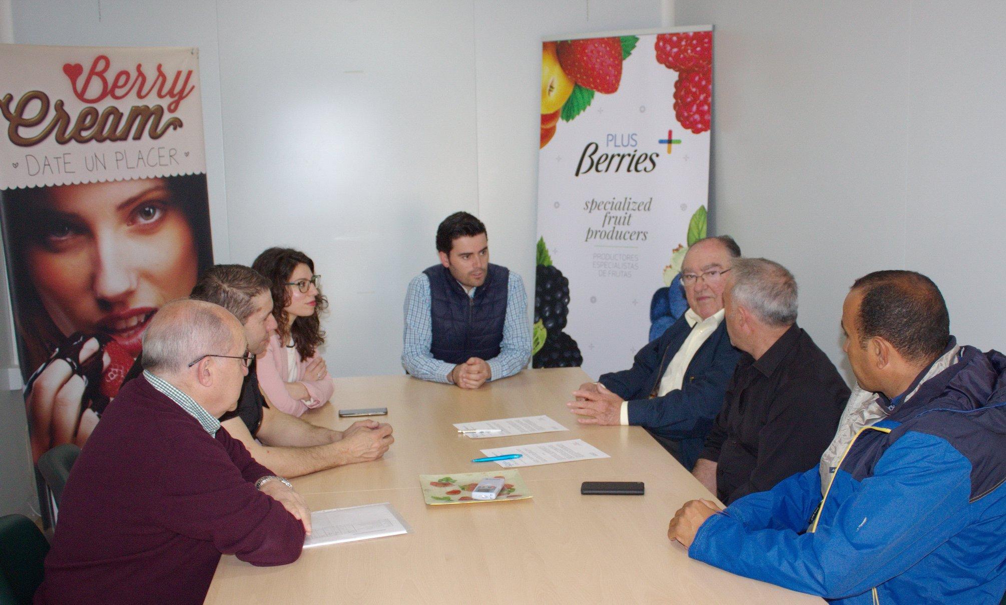 Plus Berries en colaboración con el Banco de Alimentos de Huelva