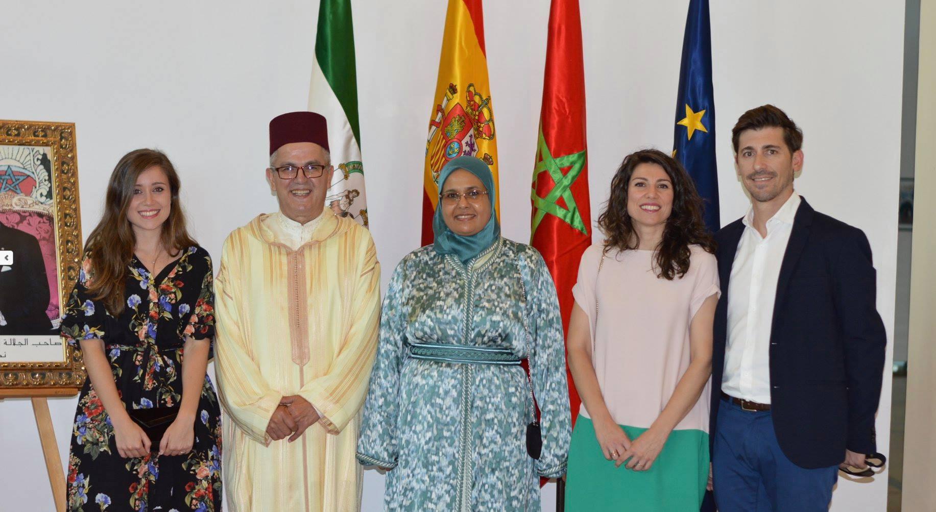 Plus Berries asiste a la fiesta de ascensión al Trono organizada por el cónsul de Marruecos