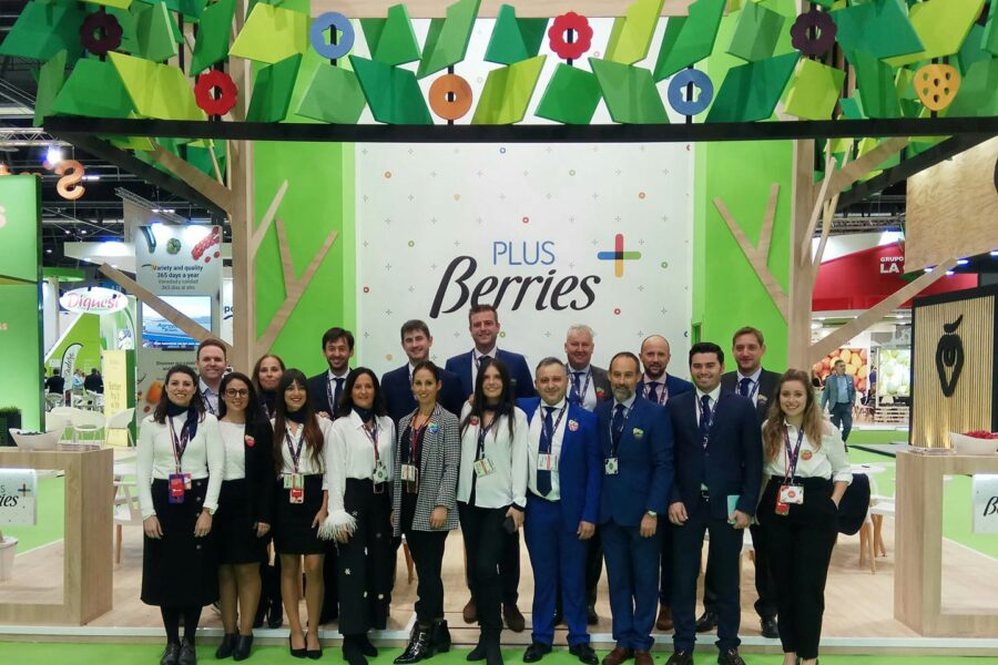 Existosa participación en Fruit Attraction