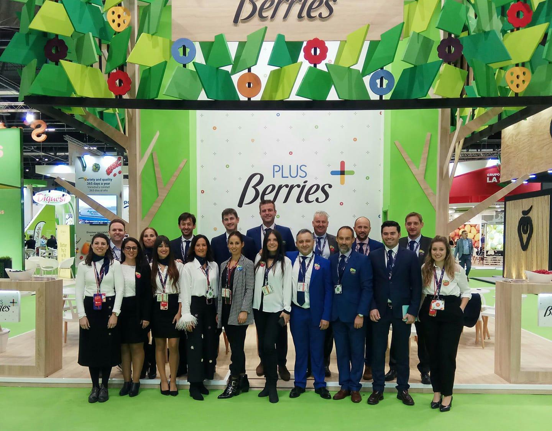 Existosa participación en Fruit Attraction